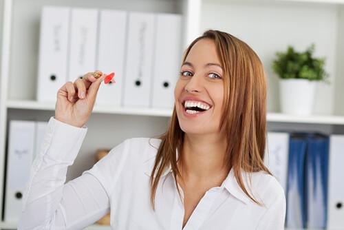 Büroorganisation macht glücklich