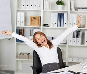happy nach Bürodienstleistungsservice
